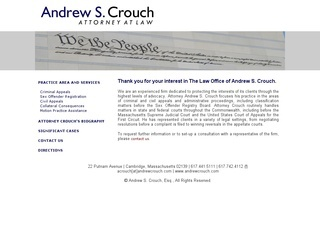 Andrew S. Crouch
