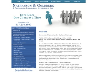Nathanson & Goldberg PC