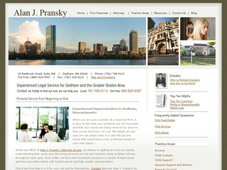 Alan J. Pransky, Attorney at Law