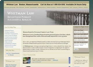 Law Offices of Steven R. Whitman