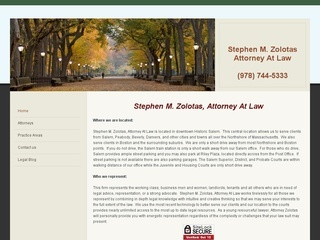 Stephen M. Zolotas, Attorney At Law